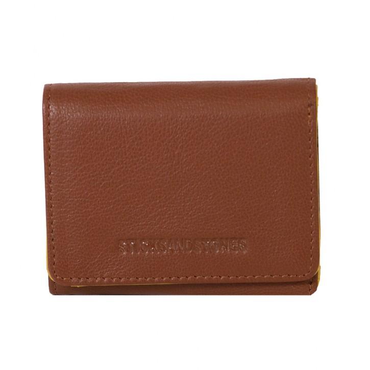 Andes Wallet Rust Brown Sticksandstones Portemonnaie Braun
