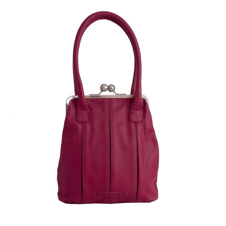 Annecy Bag Mulberry Red Washed Sticksandstones Tasche Fuchsia