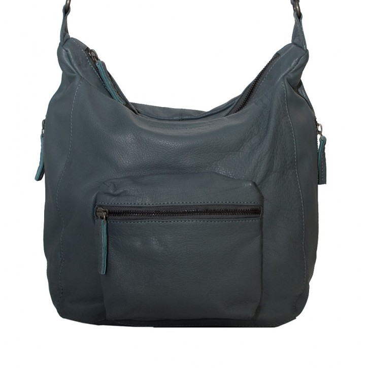 Calgary Bag Dark Slate Washed SticksandStones Tasche Grau