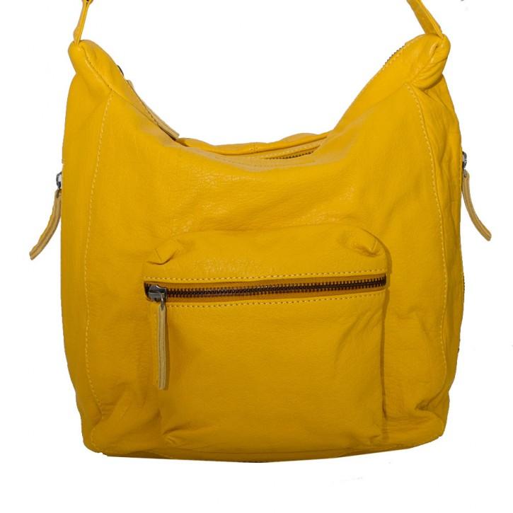 Calgary Bag Yellow Washed SticksandStones Tasche Gelb