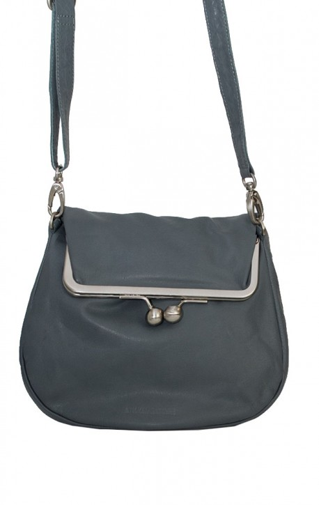 Cannes Bag Dark Slate Washed Sticksandstones Tasche Grau