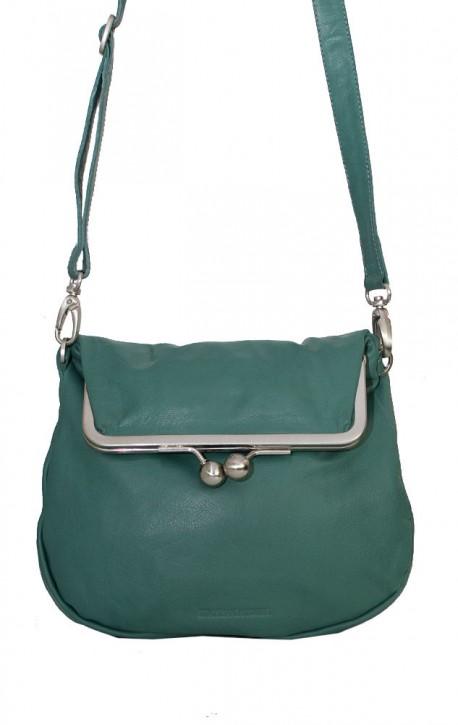 Cannes Bag Green Spruce Washed Sticksandstones Tasche Fichtengrün