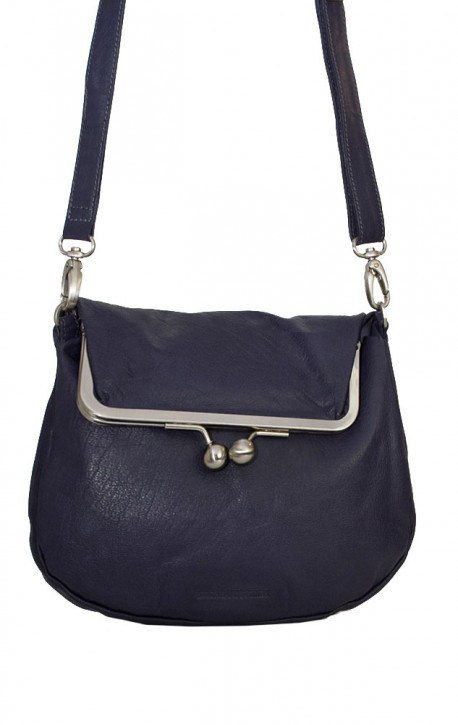 Cannes Bag Midnight Blue Washed Sticksandstones Tasche Dunkelblau