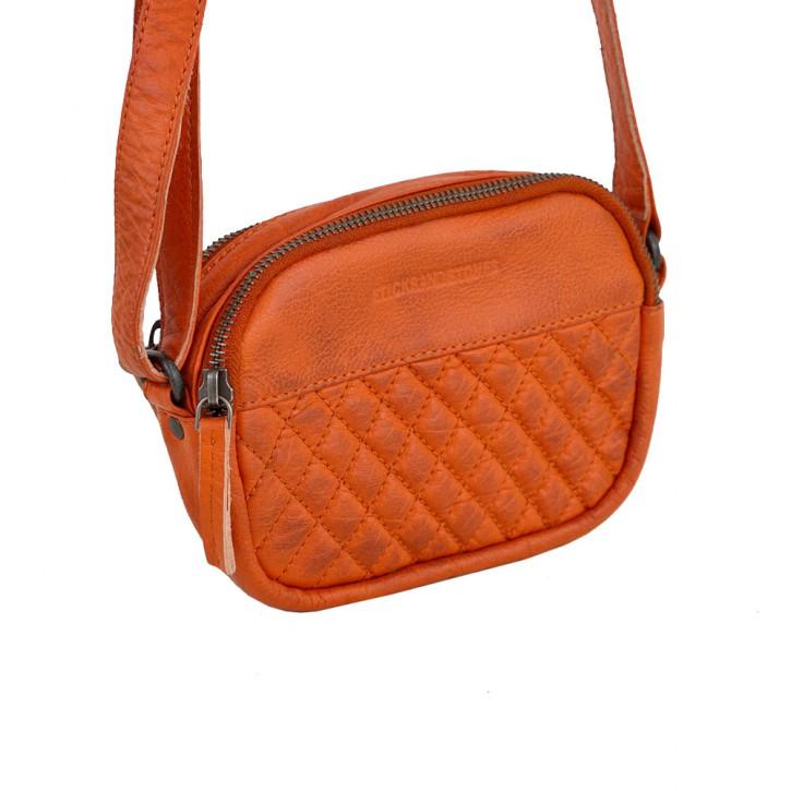 Capri Bag Pumpkin Washed Sticksandstones Tasche Orange