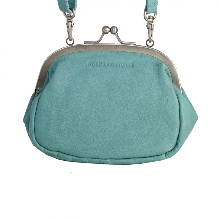 Como Bag Aqua Washed Sticksandstones Tasche Türkis