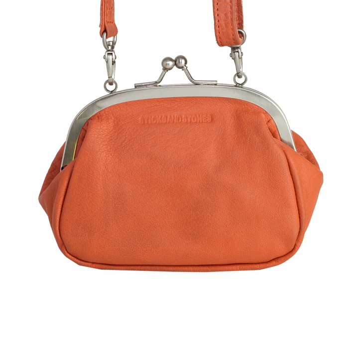 Como Bag Burnt Brick Washed Sticksandstones Tasche Orange