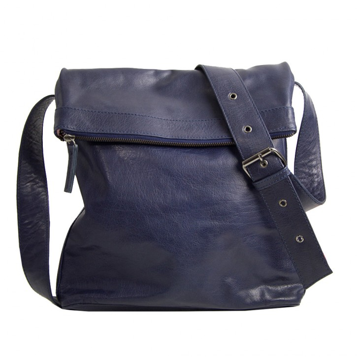 Flap Bag Marine Blue Washed Sticksandstones Tasche Dunkelblau
