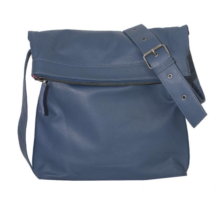 Flap Bag Denim Blue Washed Sticksandstones Tasche Jeansblau