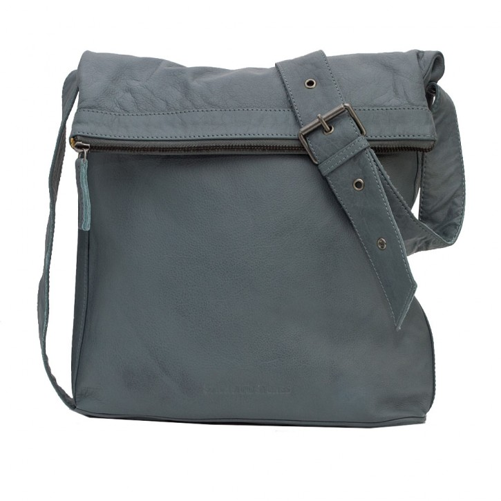 Flap Bag Dark Slate Washed Sticksandstones Tasche Grau