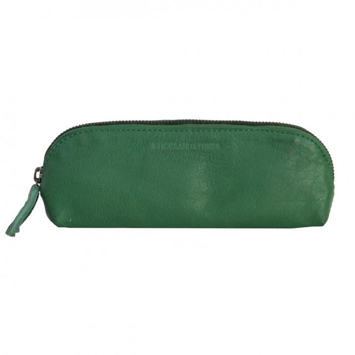 Kyoto Pencil Case Cactus Green Washed Sticksandstones Federtasche Grün