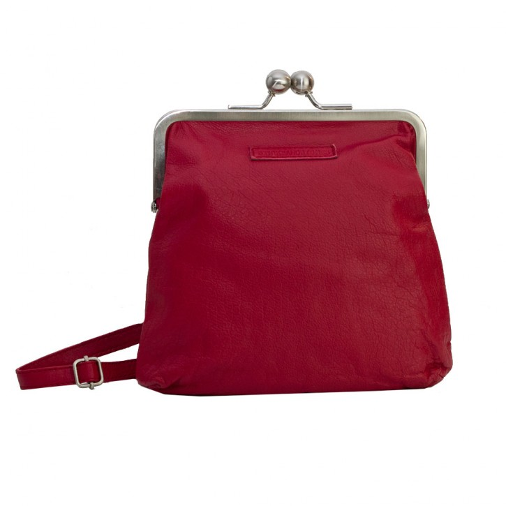 Le Marais Bag Red Washed SticksandStones Tasche Rot