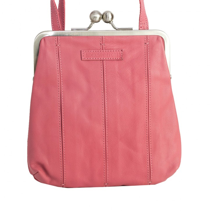 Luxembourg Bag Millenium Pink Washed SticksandStones Tasche Rosa