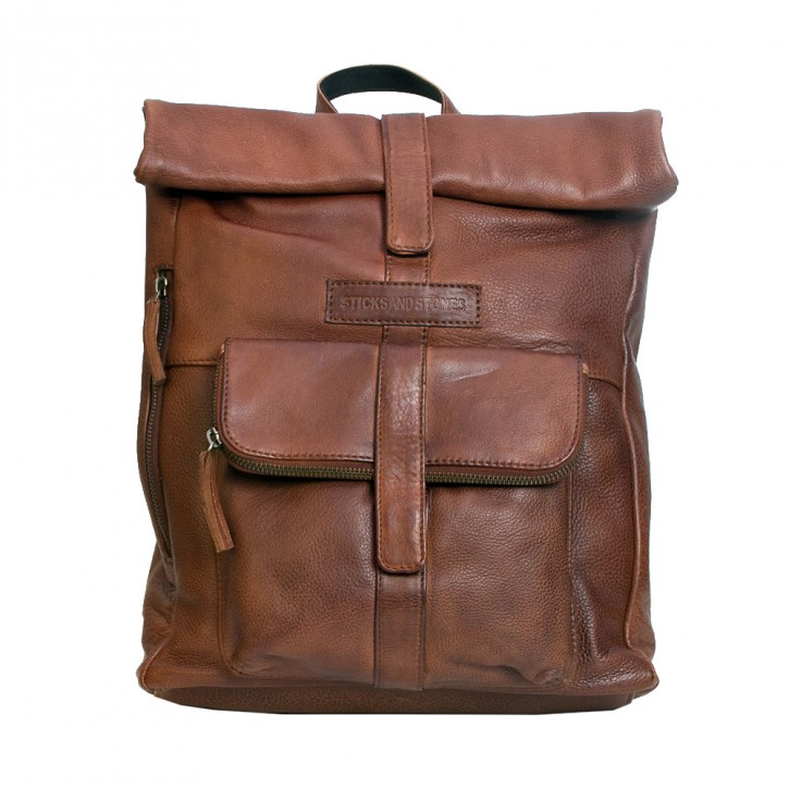Messenger Backpack Mustang Brown Sticksandstones Rucksack Braun