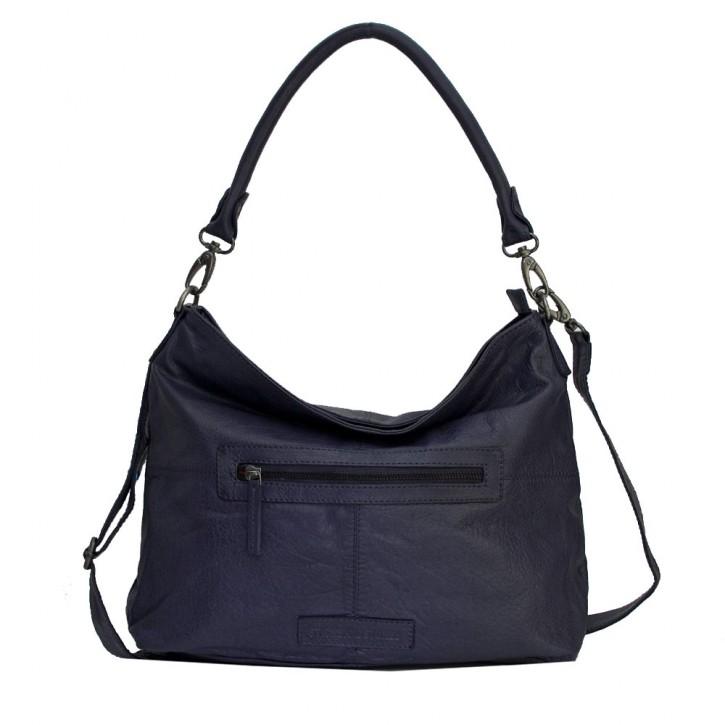 Paris Bag Midnight Blue Washed SticksandStones Tasche Dunkelblau