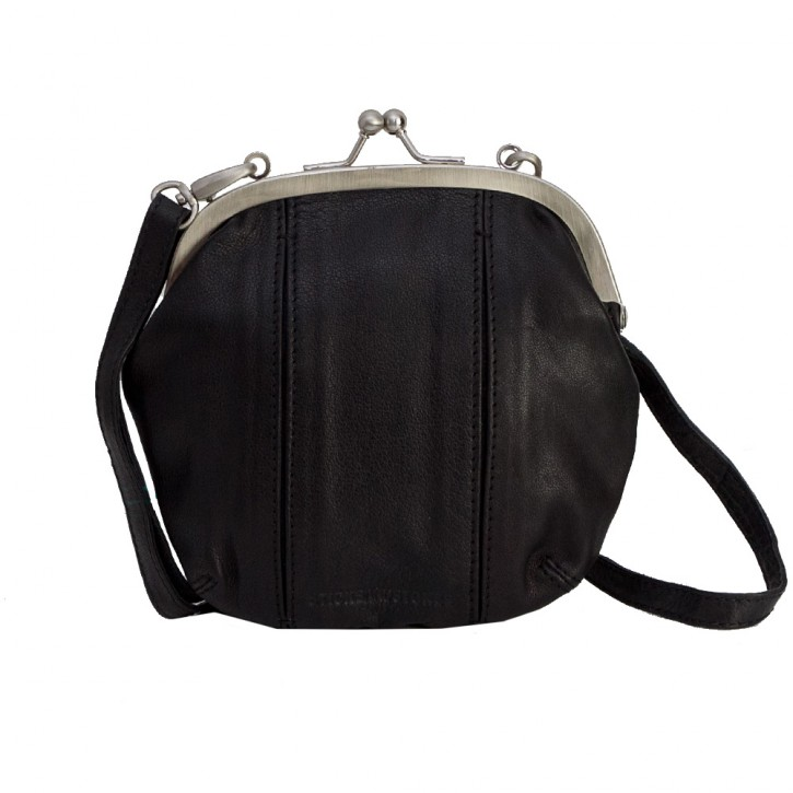 Ravenna Bag Black Washed Sticksandstones Tasche Schwarz