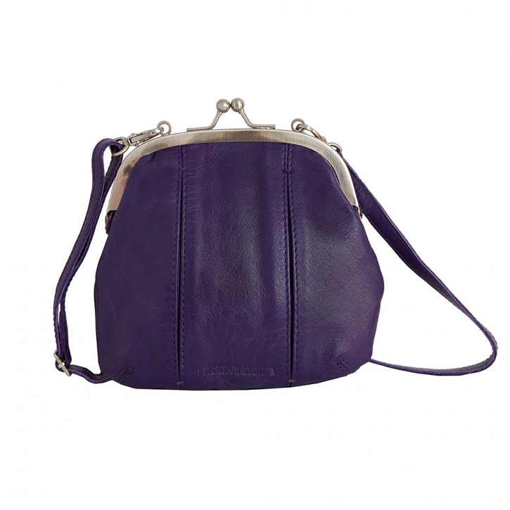 Ravenna Bag Deep Purple Washed Sticksandstones Tasche Dunkellila