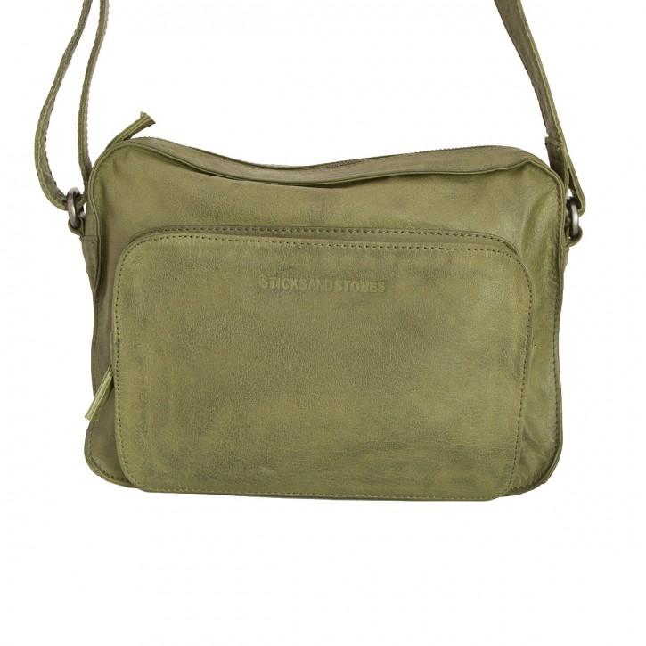 San Telmo Bag Ivy Green Washed Sticksandstones Tasche Olive