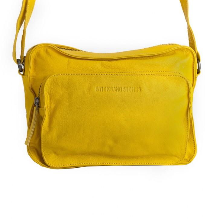 San Telmo Bag Yellow Washed Sticksandstones Tasche Gelb