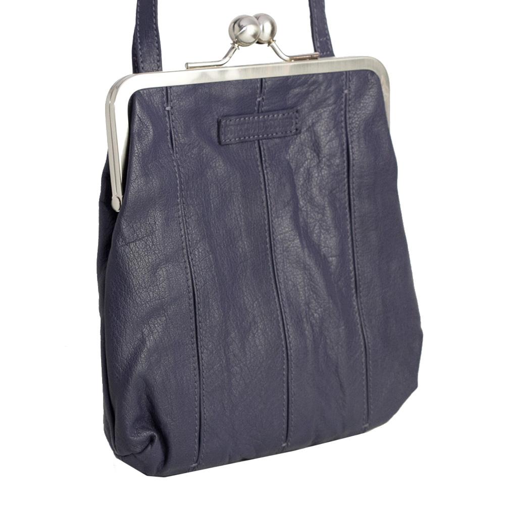 SticksandStones Tasche Luxembourg Bag Midnight Blue Washed