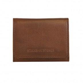 Andes Wallet Cognac Washed Sticksandstones Portemonnaie Braun