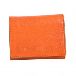 Andes Wallet Pumpkin Washed Sticksandstones Portemonnaie Orange