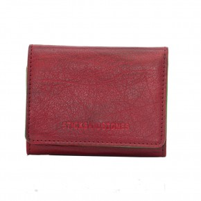 Andes Wallet Red Washed Sticksandstones Portemonnaie Rot