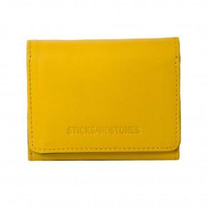 Andes Wallet Yellow Sticksandstones Portemonnaie Gelb