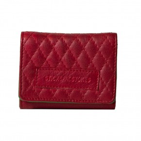 Andes Quilted Wallet Cherry Red Sticksandstones Portemonnaie Rot