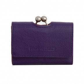 Biarritz Wallet Deep Purple Washed Sticksandstones Portemonnaie Dunkellila