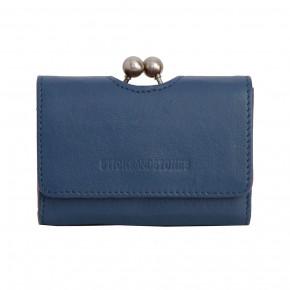 Biarritz Wallet Denim Blue Washed Sticksandstones Portemonnaie Jeansblau