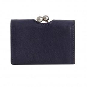 Biarritz Wallet Midnight Blue Washed Sticksandstones Portemonnaie Dunkelblau