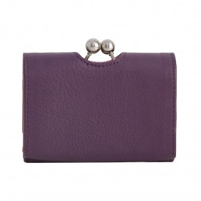 Biarritz Wallet Shadow Purple Washed Sticksandstones Portemonnaie Aubergine