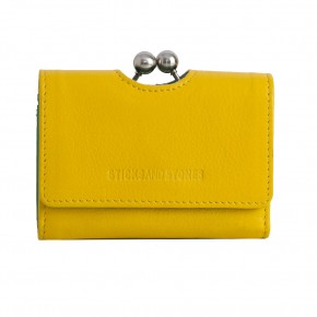 Biarritz Wallet Yellow Washed Sticksandstones Portemonnaie Gelb