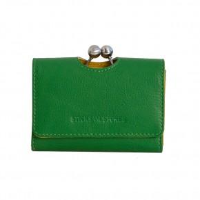 Biarritz Wallet Apple Green Sticksandstones Portemonnaie Grün