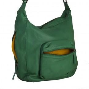 Calgary Bag Cactus Green Washed SticksandStones Tasche Grün