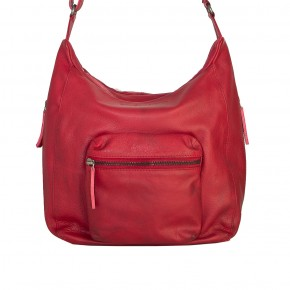Calgary Bag Cherry Red Washed SticksandStones Tasche Rot