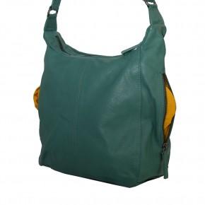 Calgary Bag Green Spruce Washed SticksandStones Tasche Fichtengrün
