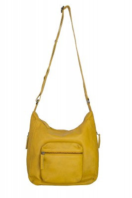 Calgary Bag Honey Yellow Washed SticksandStones Tasche Gelb
