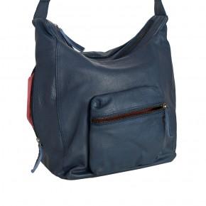 Calgary Bag Marine Blue Washed SticksandStones Tasche Dunkelblau