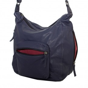 Calgary Bag Midnight Blue Washed SticksandStones Tasche Dunkelblau
