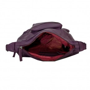 Calgary Bag Shadow Purple Washed SticksandStones Tasche Aubergine