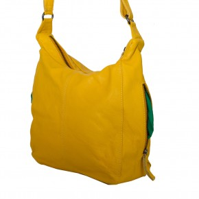 Calgary Bag Yellow Washed SticksandStones Tasche Gelb