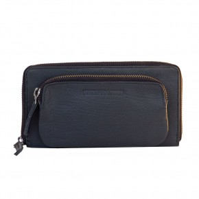 California Wallet Black Washed Sticksandstones Portemonnaie Schwarz