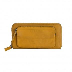 California Wallet Honey Yellow Washed Sticksandstones Portemonnaie Gelb
