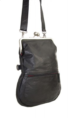 Cannes Bag Black Washed Sticksandstones Tasche Schwarz