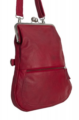 Cannes Bag Cherry Red Washed Neu Sticksandstones Tasche Rot