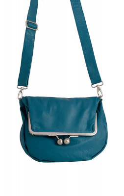 Cannes Bag Deep Lagoon Washed Sticksandstones Tasche Petrol