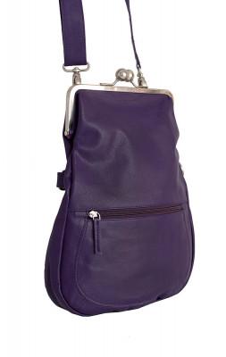 Cannes Bag Deep Purple Washed Sticksandstones Tasche Dunkellila