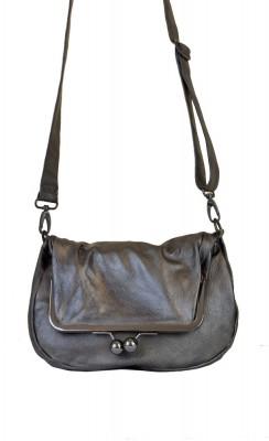 Cannes Bag Metallic Bronze Washed Sticksandstones Tasche Metalleffekt