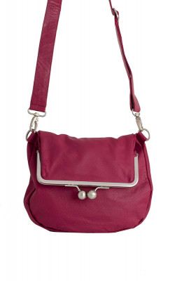 Cannes Bag Mulberry Red Washed Sticksandstones Tasche Fuchsia